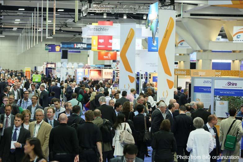 BIO 2014 Convention Pavillon overview l