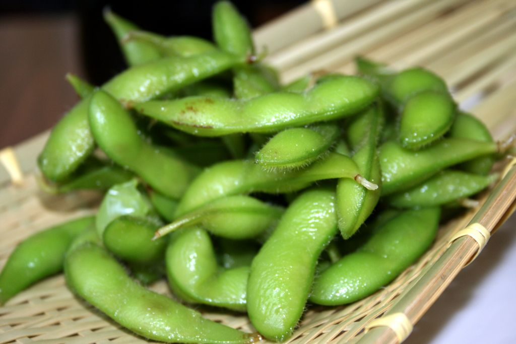 Soy-beans (CC: Tammy Green.)
