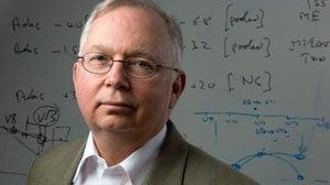 Professor Claude Wischik originally identified Tau-protein tangles as responsible for damage in Alzheimer's (Source: Aberdeen Uni)