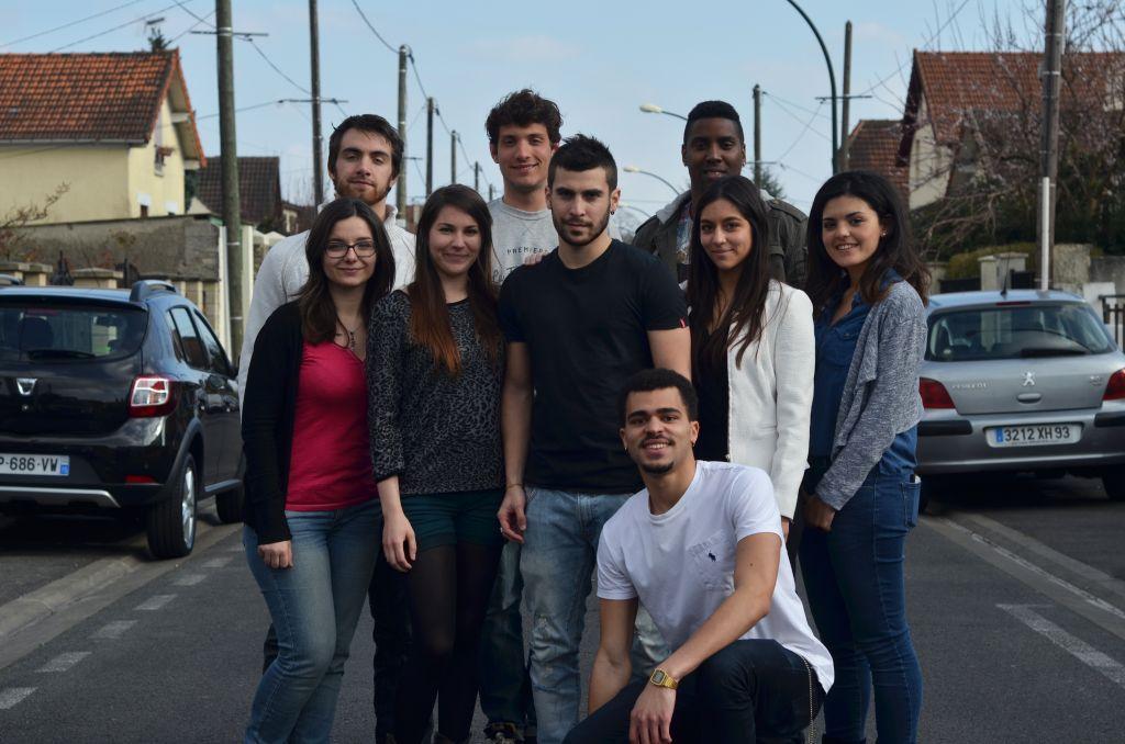 The full IONIS Team from Sup'Biotech (France)