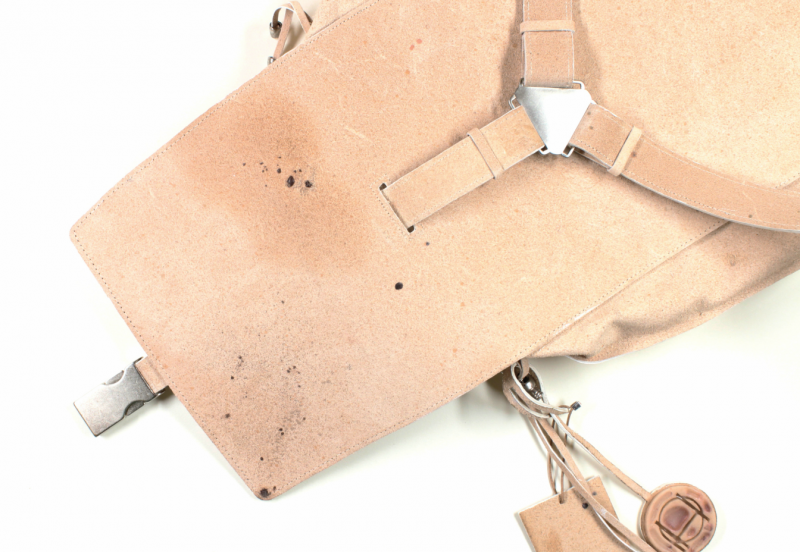tina gorjanc freckled bag human leather