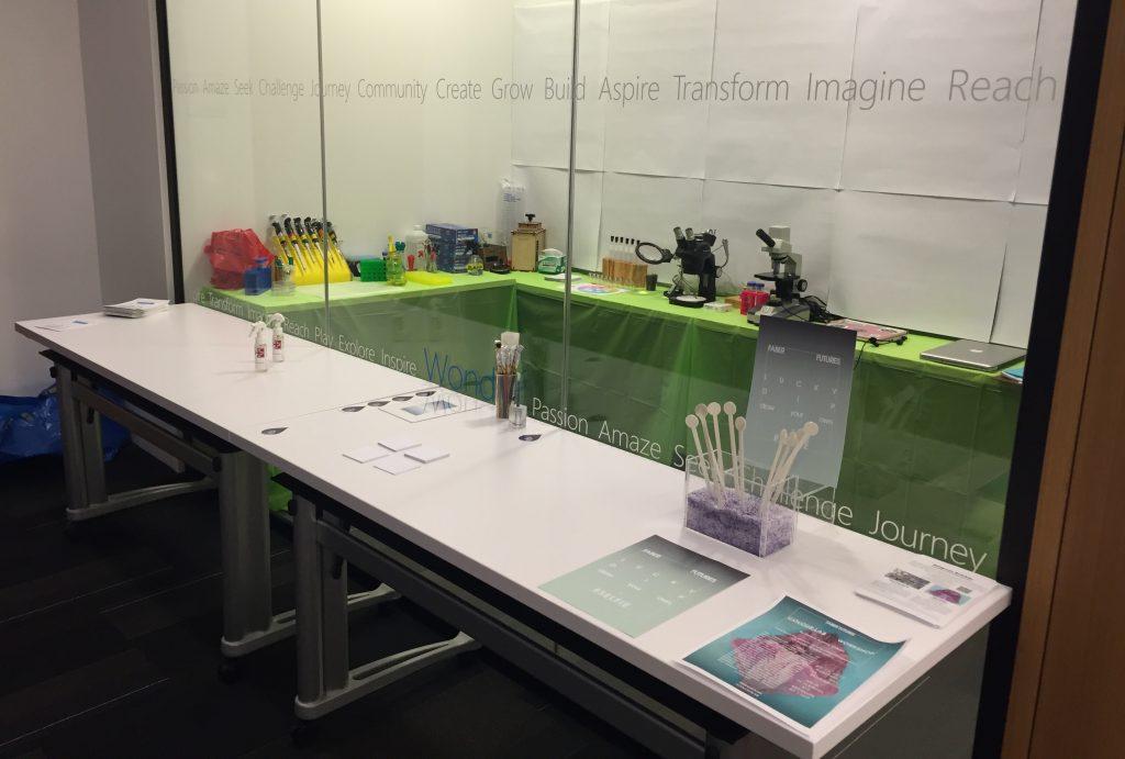 Genspace DIYbio Pop-Up Lab at Biofabricate (Source: Genspace)