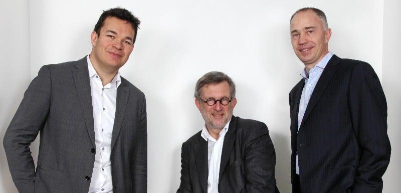 The team behind Sofinnova Industrial Biotech: Michael Krel (left, Denis Lucquin (center) and Joško Bobanović (right)