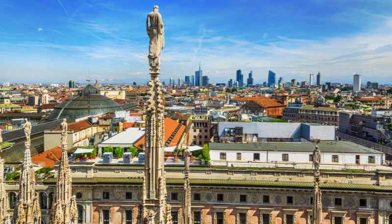 Milan is a hotspot for biotech in Italy