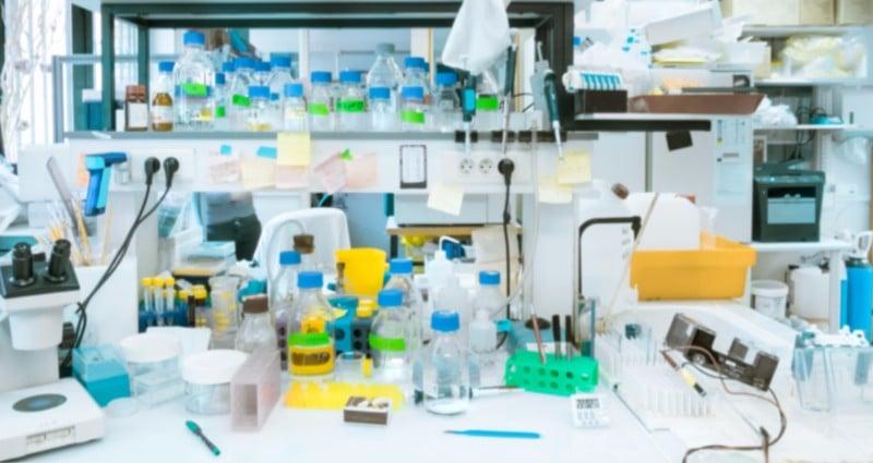Lab bench scientists biotech startups