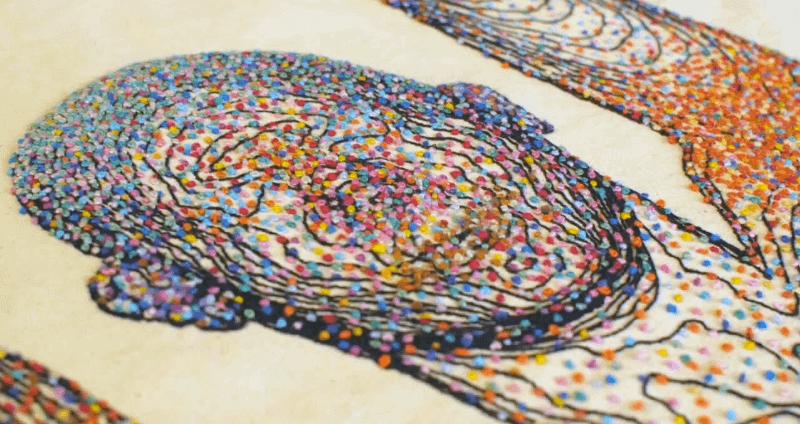 Rebecca Harris synbiosis closeup