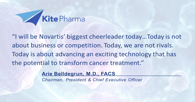 Novartis CTL019 FDA recommendation Kite Pharma