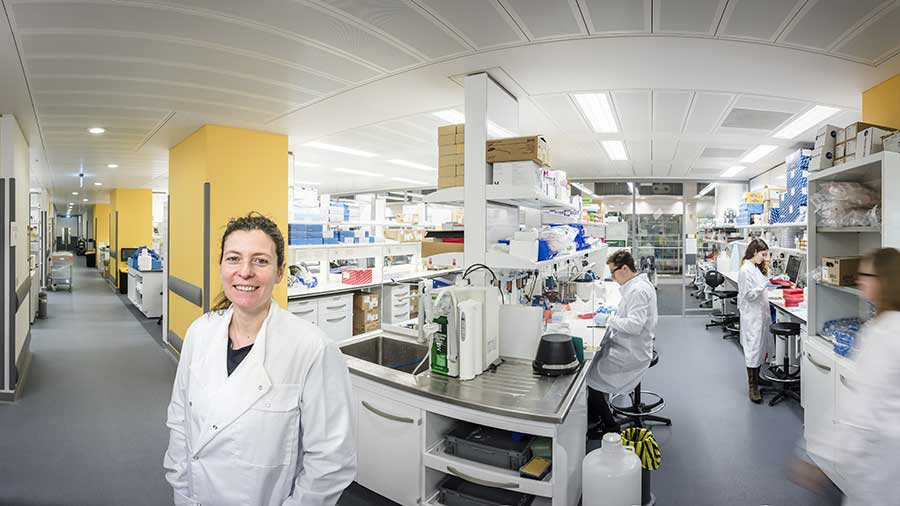 Ilaria Malanchi, group leader at the Tumor-Host Interaction Laboratory in The Francis Crick Institute