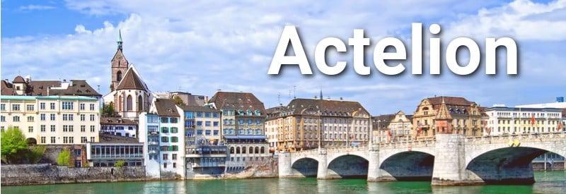 best biotech companies Europe Actelion
