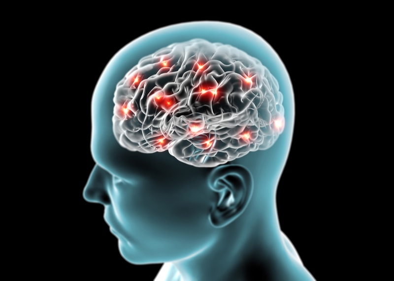 Blood-brain barrier - Alzheimer's concept