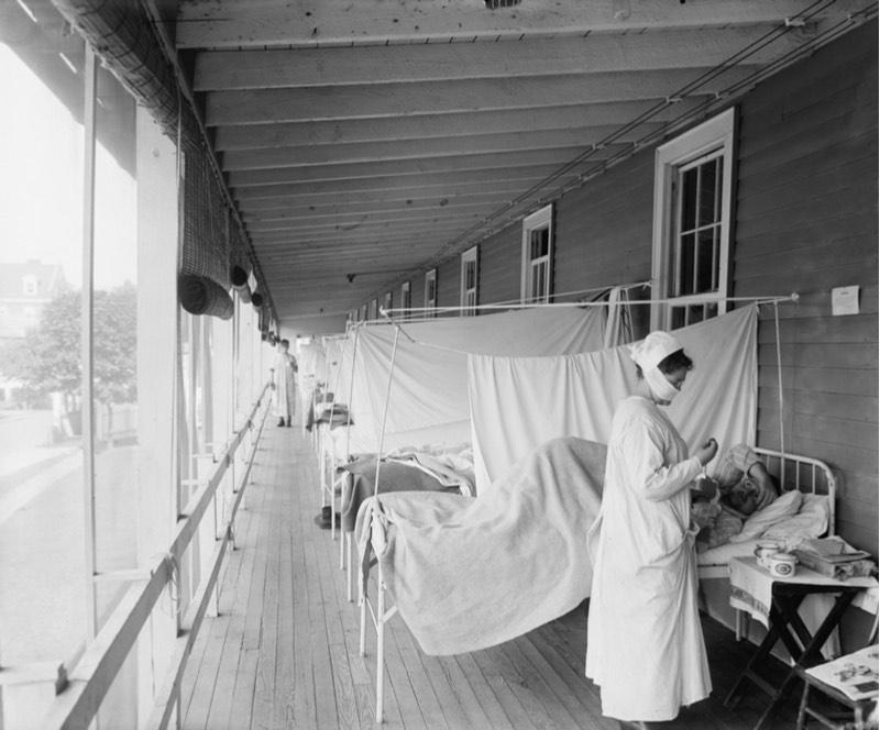 Flu vaccines feature - 1918 flu pandemic