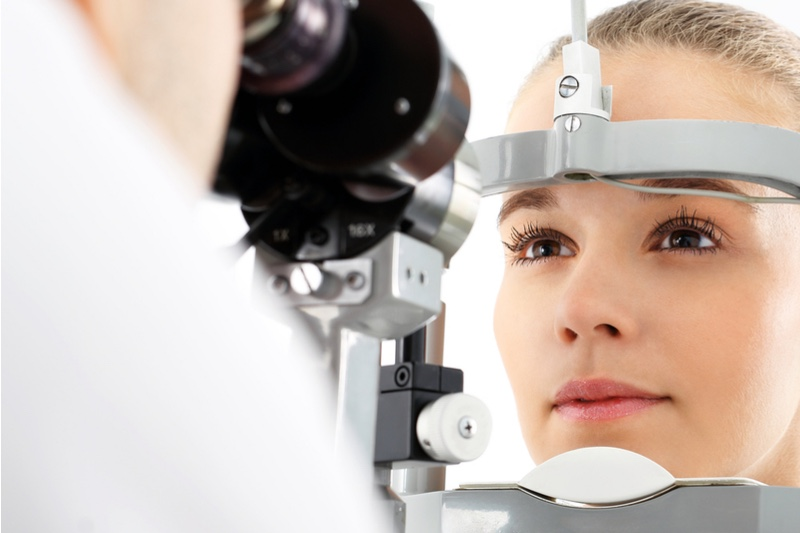Underserved diseases - eye clinic