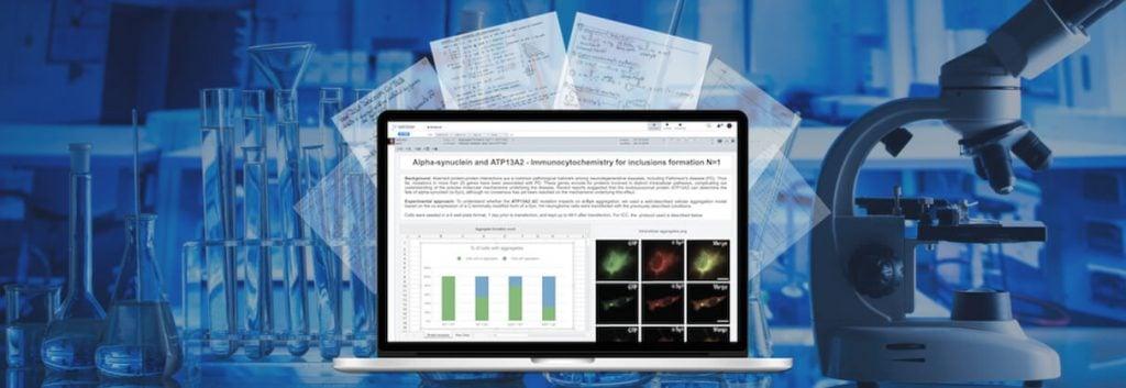 labfolder, electronic lab notebook, ELN