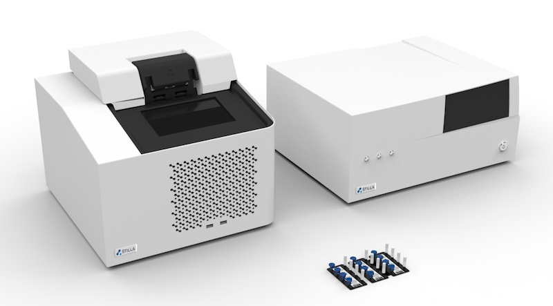 Stilla Technologies Naica system DNA quantification