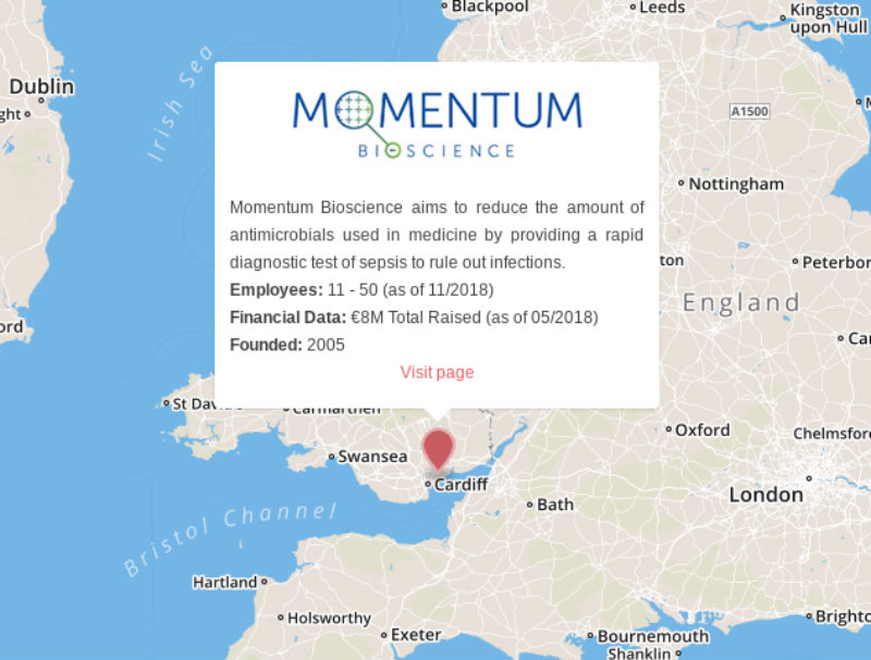 momentum bioscience blood infection sepsis UK