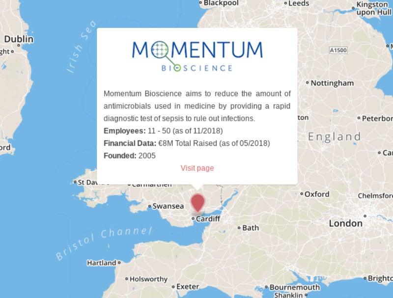 momentum bioscience blood infection sepsis UK