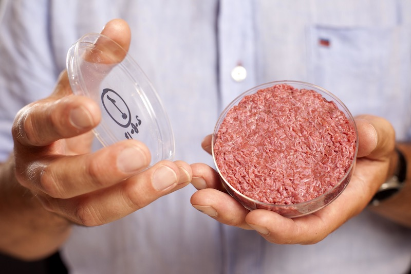 Cultured meat Mosa Meat Mark Post
