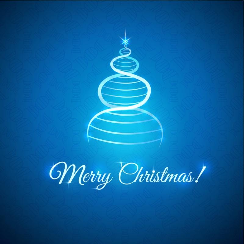 christmas tree CRISPR-Cas9 merry