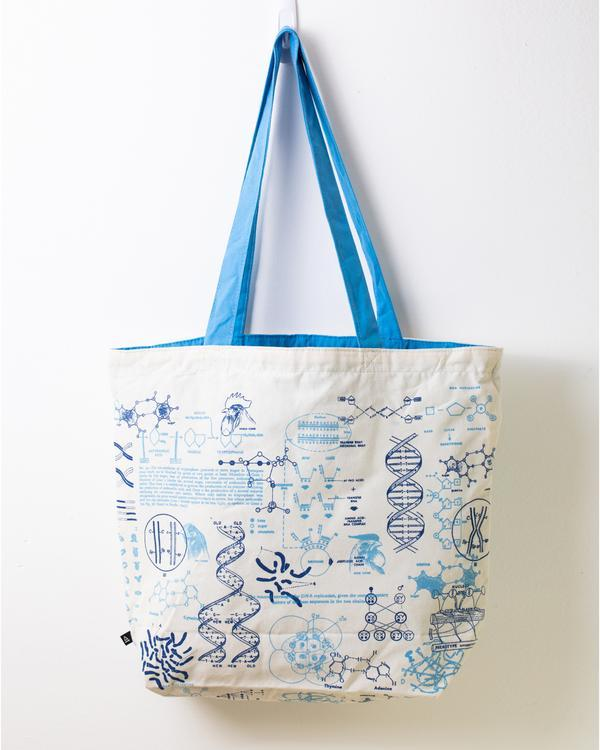 genetics shoulder bag