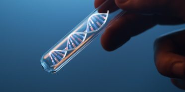 DNA in test tube - Ryan Cawood, Oxford Genetics - interview header