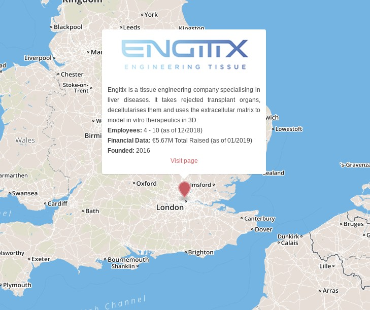 engitix extracellular matrix cancer london