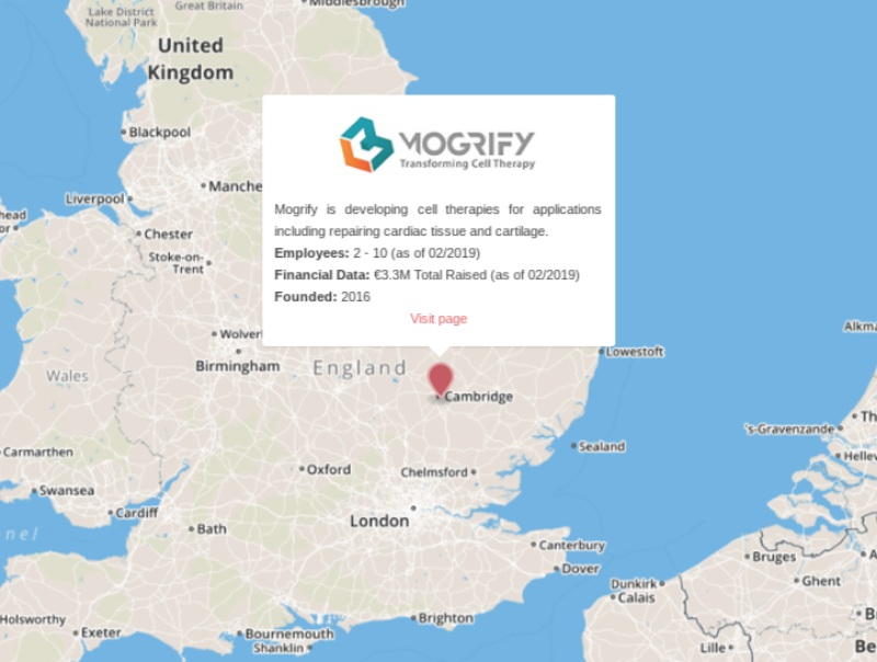 stem cell therapy mogrify disley