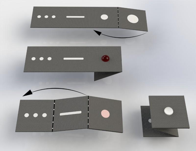 malaria paper origami diagnosis university of glasgow