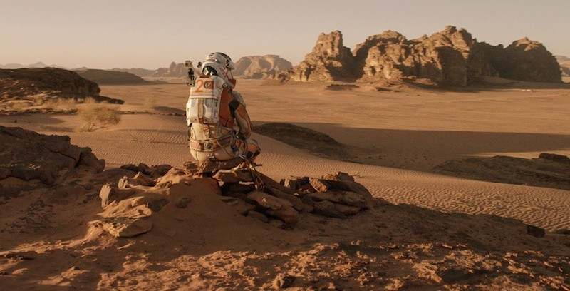 Biotechnology space travel The Martian movie