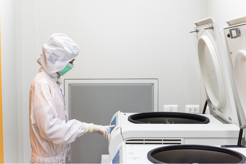 Cell Therapy - Manufacturing Clean Room