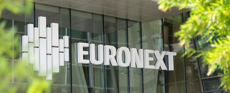 Euronext headquarters, stock exchange, biotech industry, Europe