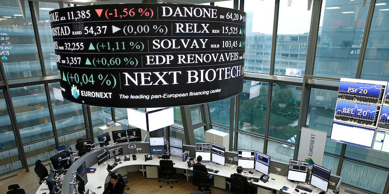 Euronext headquarters, stock exchange, biotech industry, Europe, NEXT Biotech Index