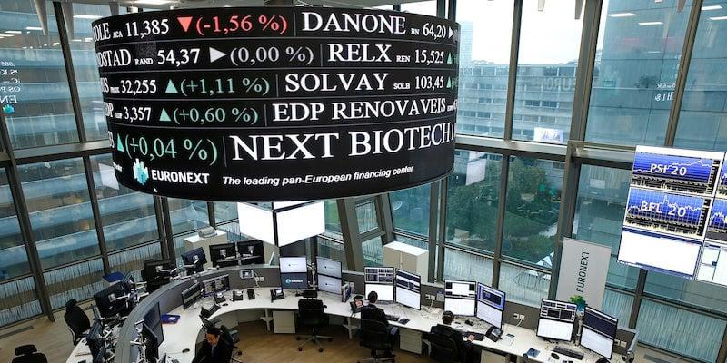 Euronext headquarters, stock exchange, biotech industry, Europe, NEXT Biotech Index