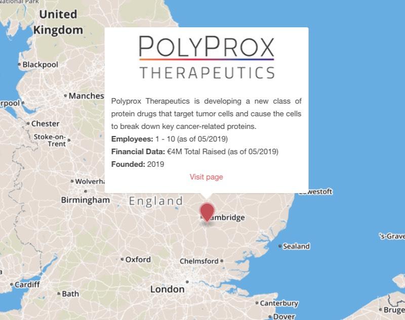polyprox cambridge cancer protac