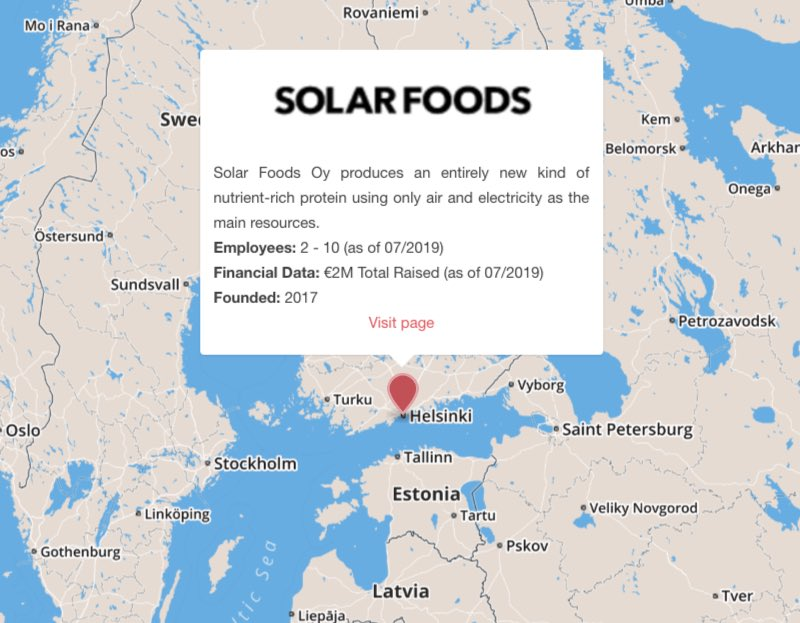 solar foods finland space mission