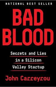 Bad Blood - John Carreyrou - biotech Books 2019