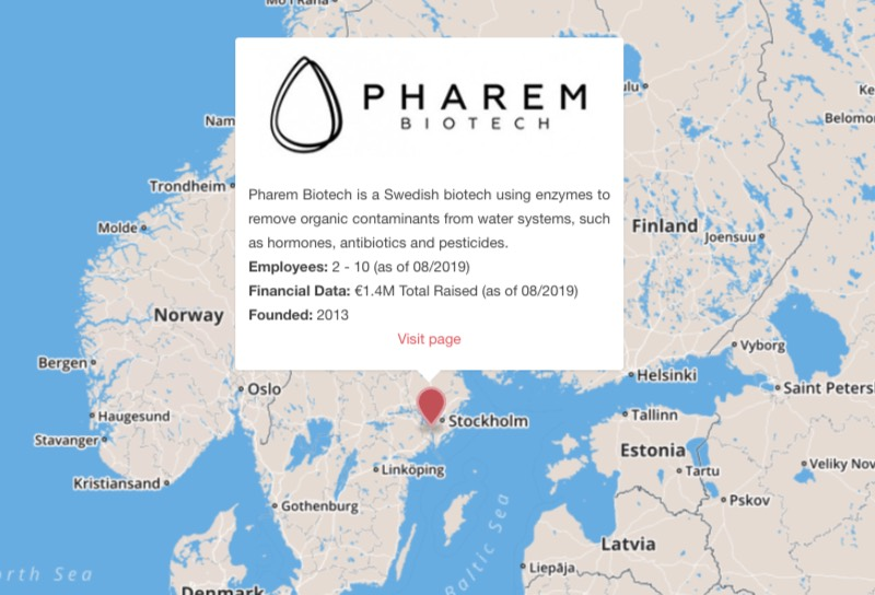 pharem biotech sweden water pollution