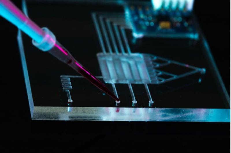 microfluidics lightcast discovery uk