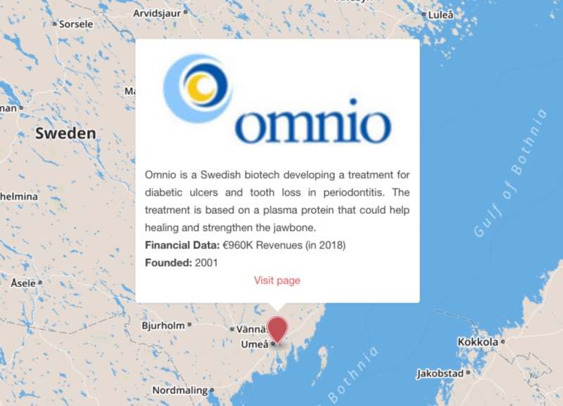 omnio wound healing tooth loss umea