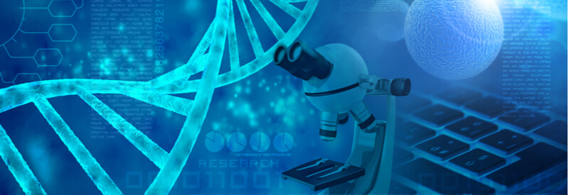 market trends, biotechnology, life sciences, dna, microscope, cells