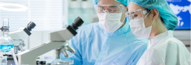 researchers, Novotech, laboratory work, scientists, biotech, life sciences, clinical trials