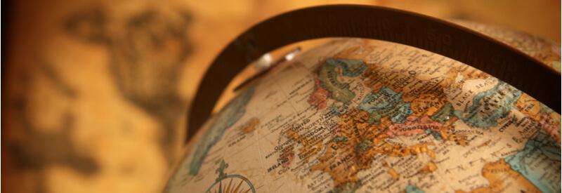 Europe, Globe, Worldwide