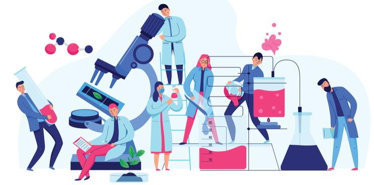 science laboratory, drug development, biologicals