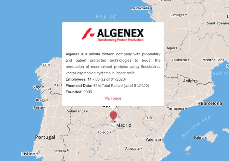 algenex vaccines madrid