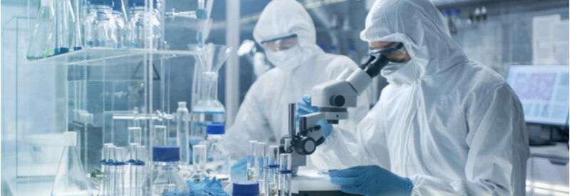 laboratory, researchers, scientists, cell and gene therapy manufacturing