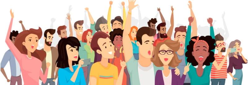 audience, people