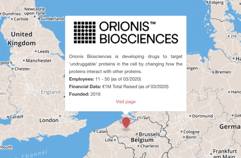 orionis biosciences cancer immunotherapy