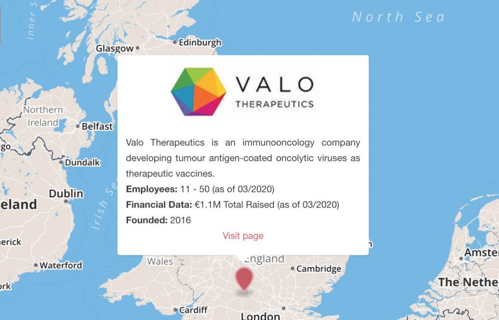 valo therapeutics oxford finland cancer immunotherapy uk