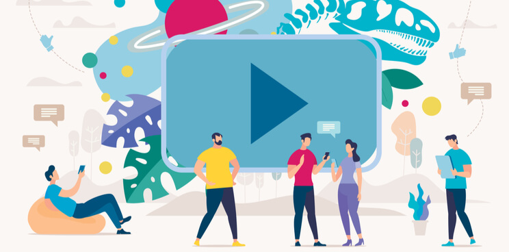 video content, video, visual information