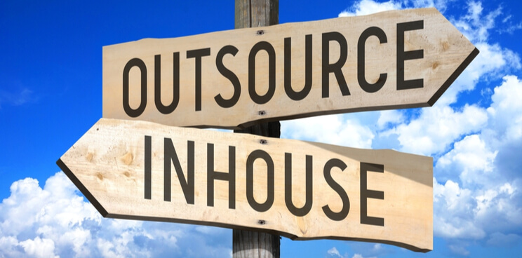 outsourcing, inhouse, outsourcing management