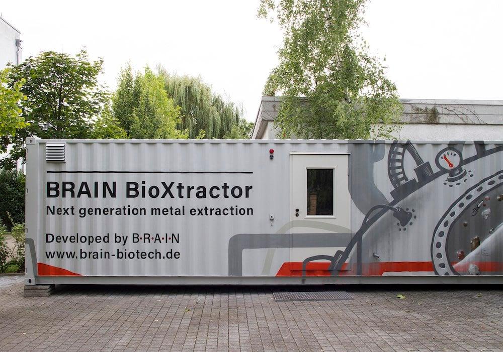 BRAIN BioXtractor biometallurgy